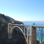 De Bixby Bridge nabij Big Sur.